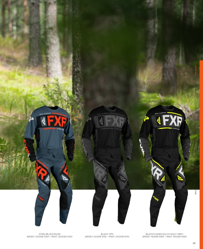 FXR Enduro Cross