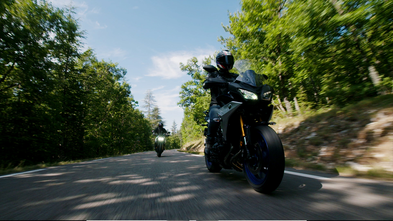 Video Cască Moto Open Face SHARK STREET DRAK CARBON SKIN · Negru / Portocaliu