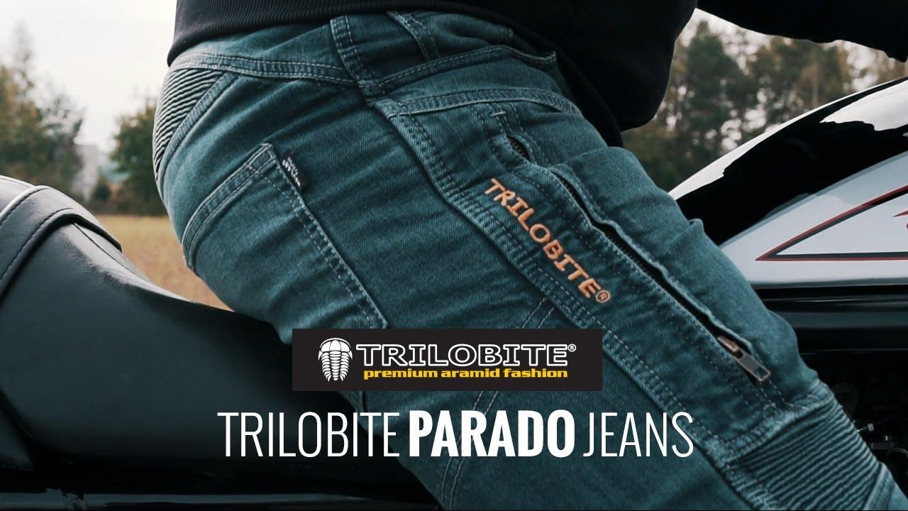 Video Blugi Moto Damă TRILOBITE PARADO LADY · Albastru