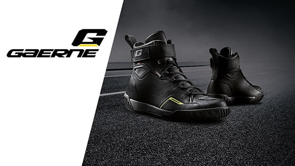 Video Ghete Moto GAERNE GORETEX ROCKET · Negru