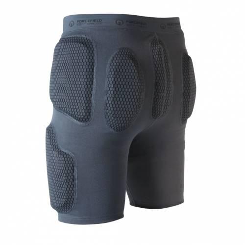 Pantaloni Moto de Protecție FORCEFIELD ACTION SHORT · Gri