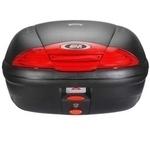 Cutie / Topcase Moto GIVI E450N 45L · Negru / Roșu