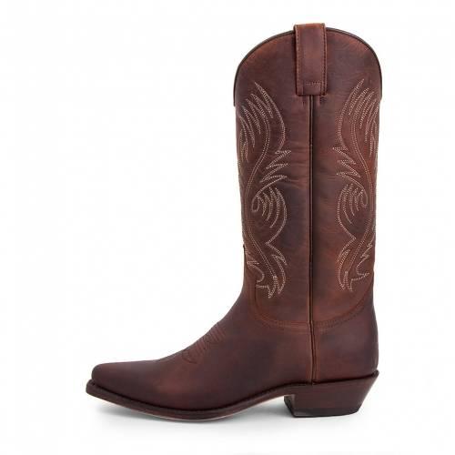 Cizme Cowboy Damă SENDRA BOOTS 2605 · RED SP 7004 · Maro