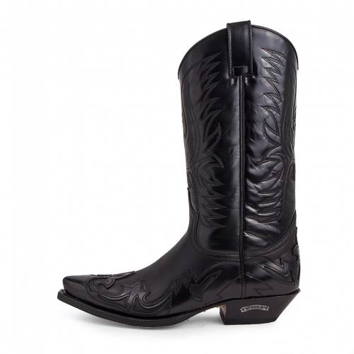 Cizme Cowboy  SENDRA BOOTS 3241 · Cuervo Flora Negro-Sprinter Negro · Negru