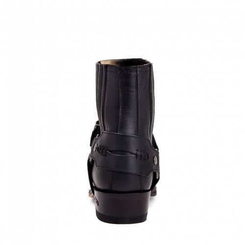 Botine Moto Unisex SENDRA BOOTS 6445 · SETA PULL OIL NEGRO · Negru