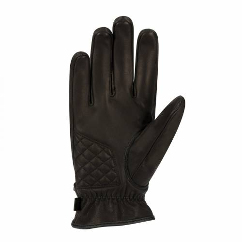 Mănuși Moto din Piele SEGURA COX · Negru