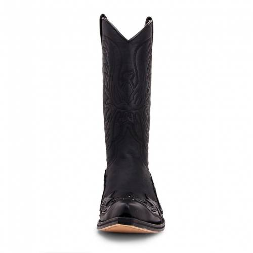Cizme Cowboy Unisex SENDRA BOOTS 3242 · PULL OIL NEGRO-TRANSP. PITON · Negru
