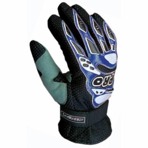 Mănuși Moto din Piele & Textil SHOX DAKAR · Albastru