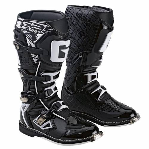 Cizme Moto din Piele & Textil GAERNE G-REACT Goodyear · Negru