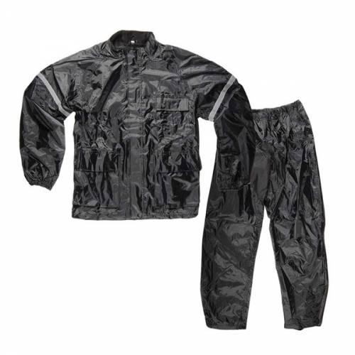 Combinezon Moto Ploaie SHOX HURRICANE · Negru