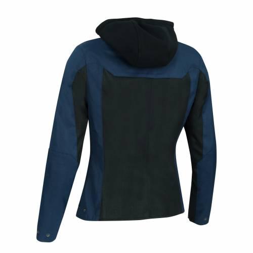 Geacă Moto Damă din Textil BERING LADY SPIRIT · Negru / Albastru
