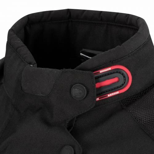 Geacă Moto din Textil BERING DARKO · Negru / Roșu