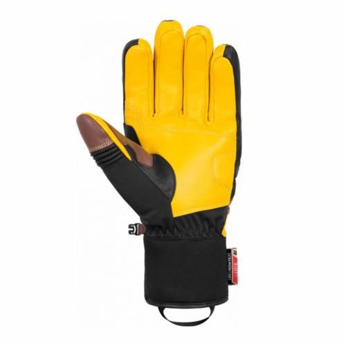 Mănuși Schi REUSCH SLASH R-TEX® XT 872 · Maro / Negru / Galben