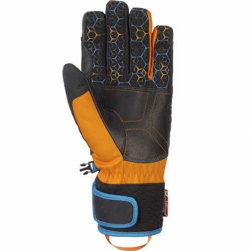 Mănuși Schi REUSCH STUART R-TEX® XT 4425 · Negru / Portocaliu / Albastru