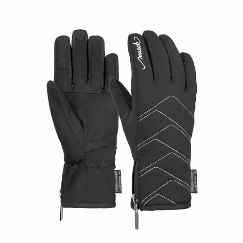 Mânuși Urbane Damă REUSCH LOREDANA TOUCH-TEC 7702 · Negru / Argintiu