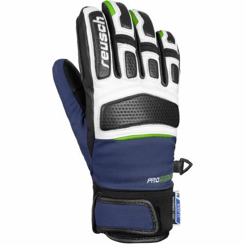 Mănuși Schi Copii REUSCH MASTERY R-TEX® XT JUNIOR 4496 · Albastru / Verde-Fluo