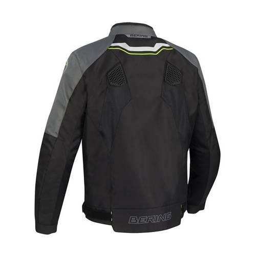 Geacă Moto din Textil BERING BATIST · Negru / Gri