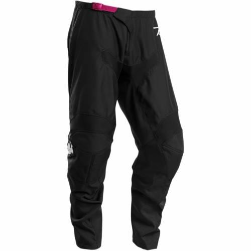 Pantaloni Enduro - Cross Damă THOR SECTOR LINK · Negru