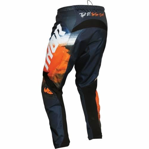 Pantaloni Enduro - Cross Copii THOR SECTOR VAPOR · Portocaliu / Negru