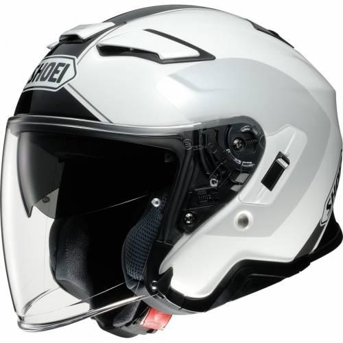 Casca Moto Open Face SHOEI J-CRUISE II Adagio TC-6 · Alb / Negru