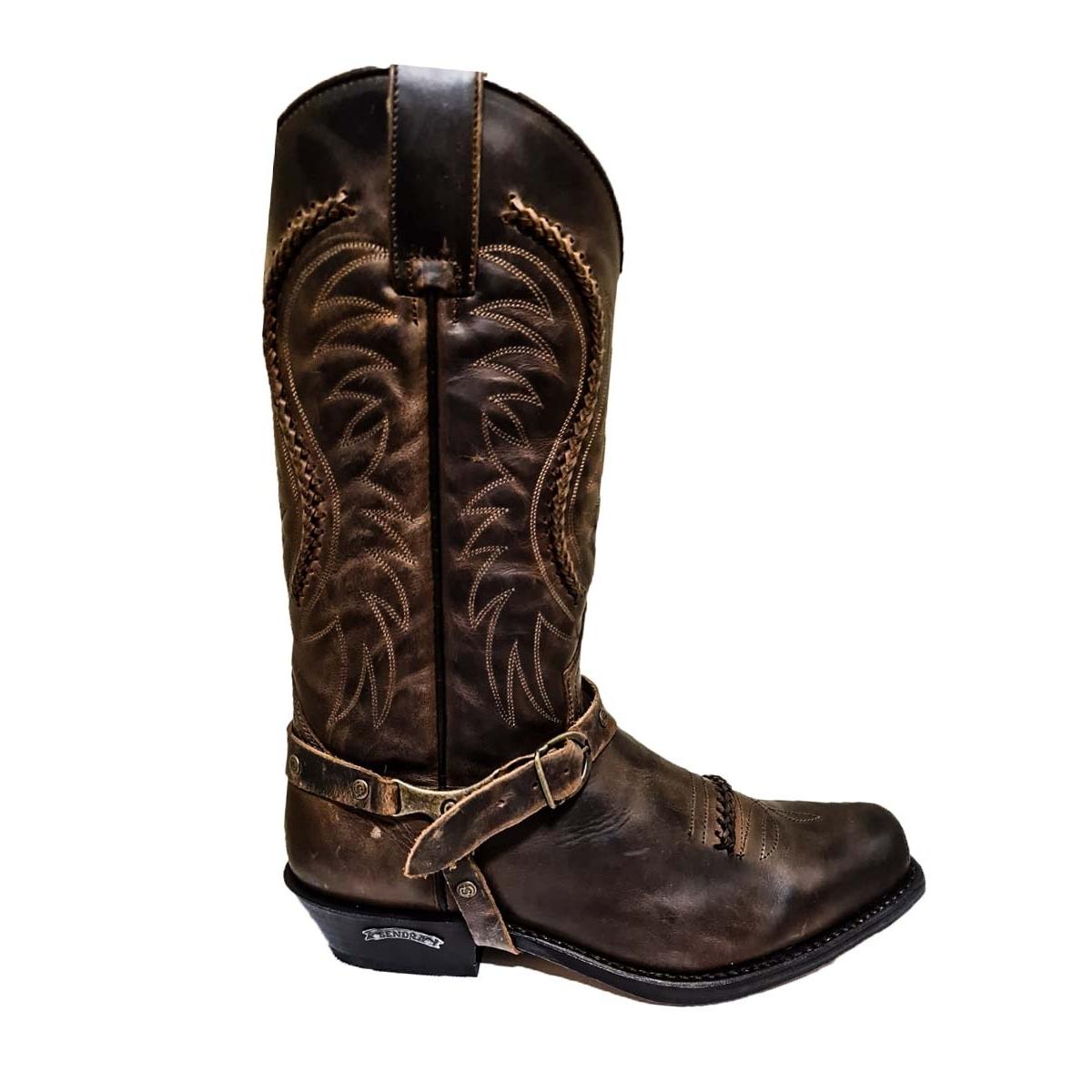 Cizme Cowboy Unisex 3434 Seta Mad Dog Tang · Maro