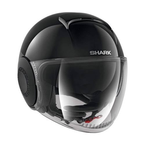 Cască Moto Open Face SHARK NANO CRYSTAL · Negru