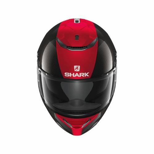 Cască Moto Integrală SHARK SPARTAN CARBON SKIN · Negru / Roșu