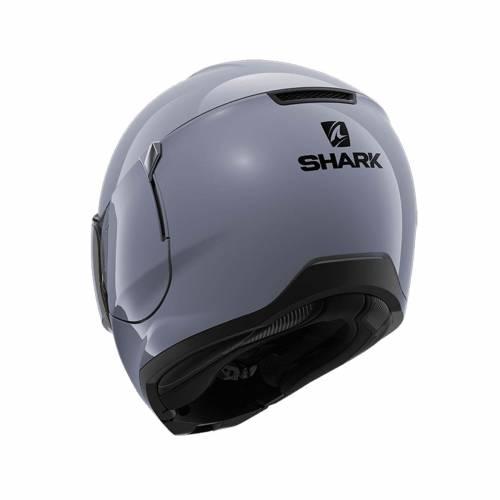 Cască Moto Flip Up SHARK EVOJET BLANK · Gri