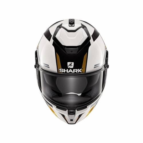 Cască Moto Integrală SHARK SPARTAN GT TRACKER · Alb / Negru / Auriu