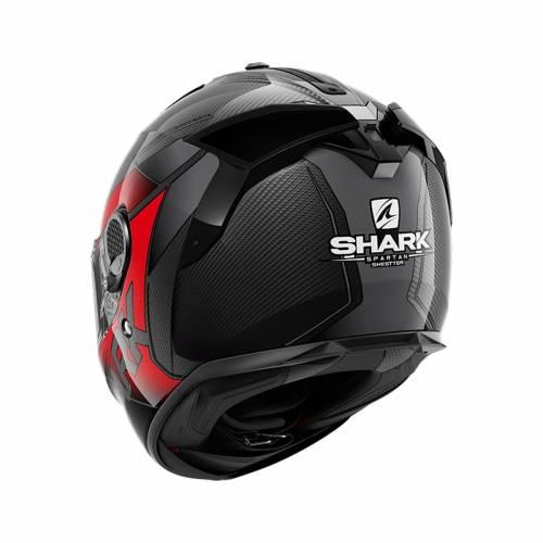 Cască Moto Integrală SHARK SPARTAN GT CARBON SHESTTER · Gri / Roșu