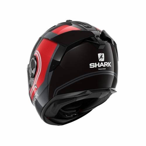 Cască Moto Integrală SHARK SPARTAN GT CARBON TRACKER · Gri / Negru / Roșu