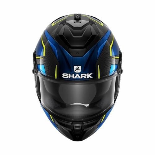 Cască Moto Integrală SHARK SPARTAN GT CARBON KROMIUM · Negru / Albastru / Galben