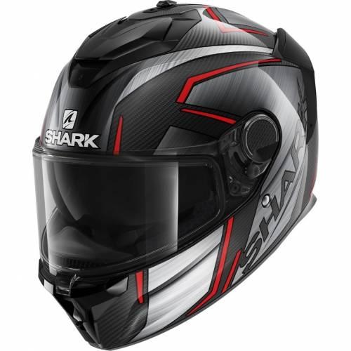 Cască Moto Integrală SHARK SPARTAN GT CARBON KROMIUM · Negru / Gri / Roșu