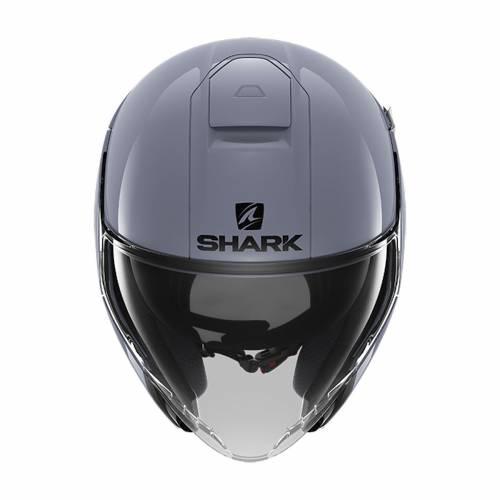Cască Moto Open-Face SHARK CITYCRUISER BLANK · Gri