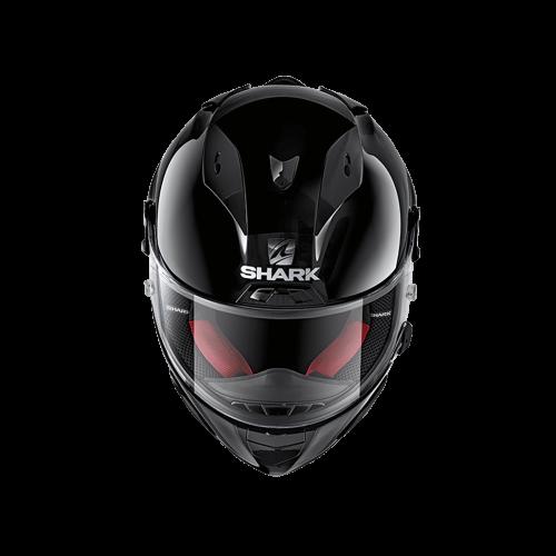 Cască Moto Integrală SHARK RACE R-PRO BLANK · Negru