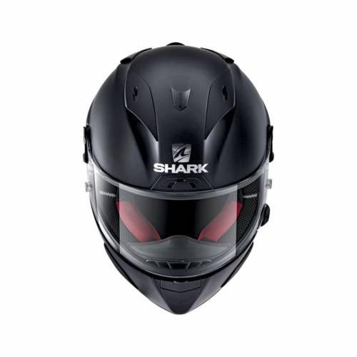 Cască Moto Integrală SHARK RACE R-PRO BLANK · Negru Mat