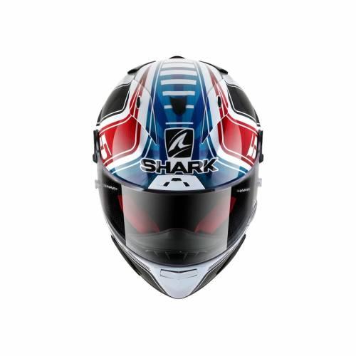 Cască Moto Integrală SHARK RACE-R PRO REPLICA ZARCO GP FRANCE · Alb / Albastru / Roșu