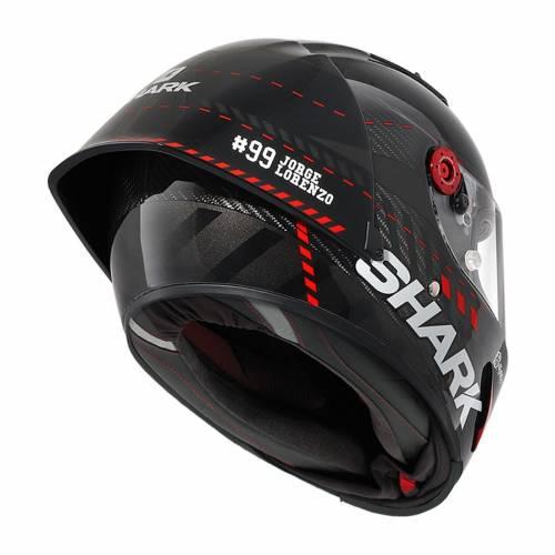 Cască Moto Integrală SHARK RACE-R PRO GP LORENZO WINTER TEST 99 · Negru / Gri / Roșu