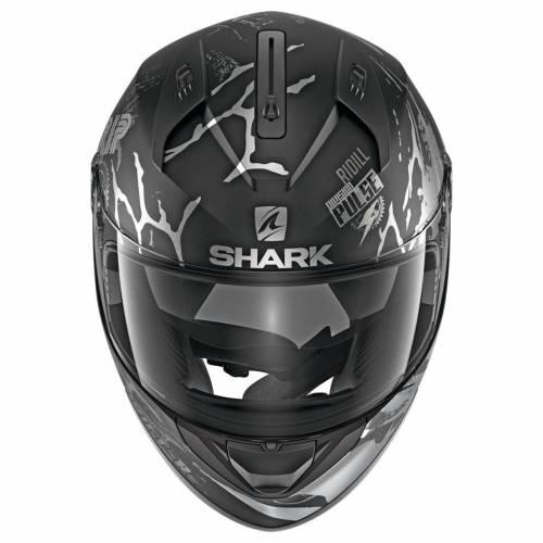 Cască Moto Integrală SHARK RIDILL DRIFT-R · Negru / Argintiu / Gri Mat