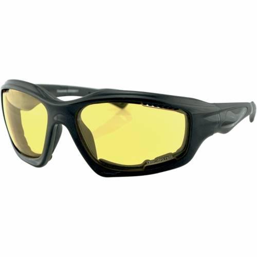 Ochelari Moto BOBSTER DESPERADO STREET · Negru / Galben