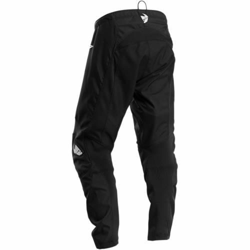 Pantaloni Enduro Copii THOR SECTOR LINK S20  · Negru / Alb
