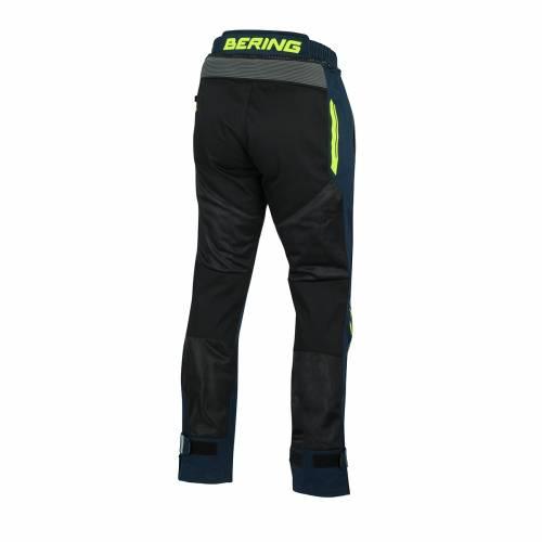 Pantaloni  Moto din Textil BERING BAMAKO · Negru / Albastru / Gri