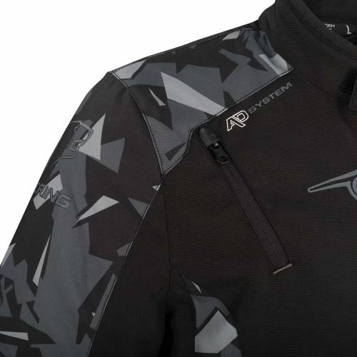 Geacă Moto din Textil BERING GOZER · Negru / Gri