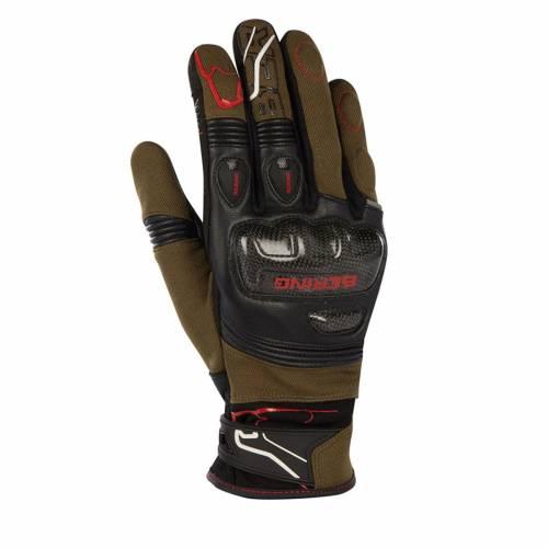 Mănuși Moto - BERING CORTEX · Negru / Kaki