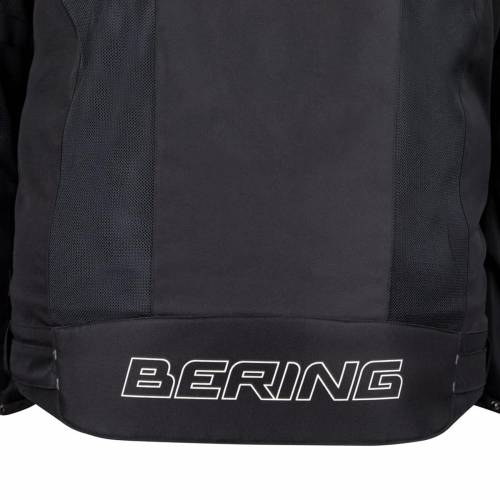 Geacă Moto din Textil BERING  CANCUN KING SIZE · Negru