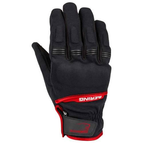 Mănuși Moto - BERING BORNEO · Negru / Roșu