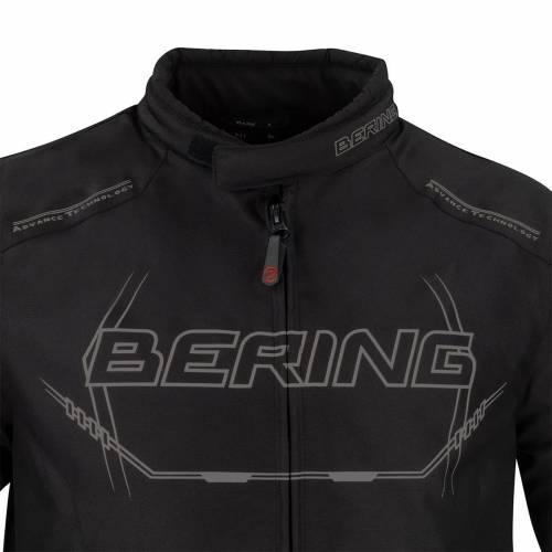 Geacă Moto din Textil BERING FORCIO · Negru