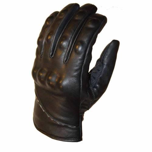 Mănuși Moto din Piele SHOX OLD BOY · Negru