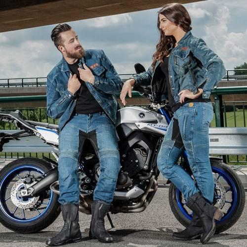 Blugi Moto TRILOBITE PARADO SHORT · Albastru
