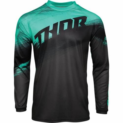 Tricou Enduro - Cross THOR SECTOR VAPOR · Verde / Negru